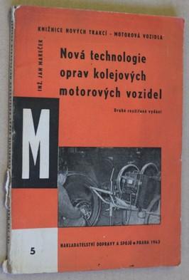 náhled knihy - Nová technologie oprav kolejových motorových vozidel