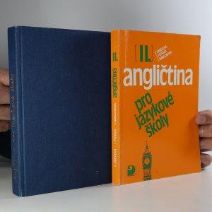 náhled knihy - Angličtina pro jazykové školy I (popsaná, podtrhaná, někde lehce natržená, razítko knihovny). Angličtina pro jazykové školy II