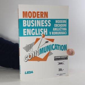 náhled knihy - Modern business English in communication. Moderní obchodní angličtina v komunikaci