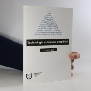 náhled knihy - Technologie vzdělávání dospělých (podtrhaná tužkou na několika stranách)
