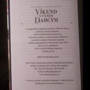 antikvární kniha Víkend s panem Darcym, 2017