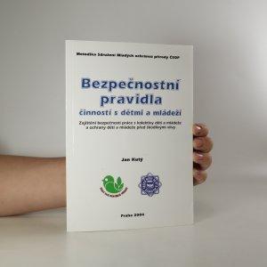 náhled knihy - Bezpečnostní pravidla činností s dětmi a mládeží