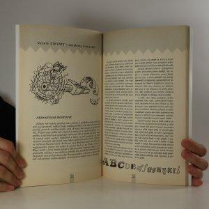 antikvární kniha Veselé diktáty, 2002