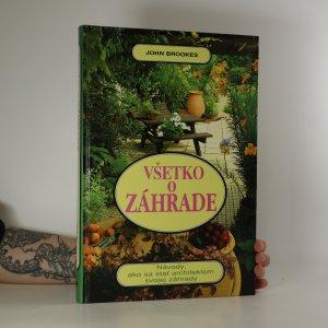 náhled knihy - Všetko o záhrade