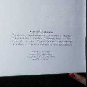 antikvární kniha Tajuplný život zvířat. V prérii, neuveden