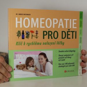 náhled knihy - Homeopatie pro děti. Klíč k rychlému nalezení léčby