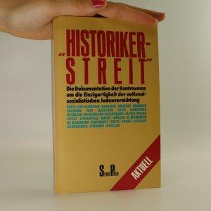 náhled knihy - Historiker-Streit