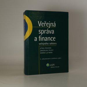 náhled knihy - Veřejná správa a finance veřejného sektoru