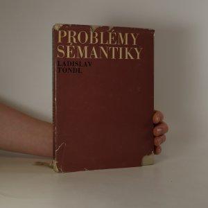 náhled knihy - Problémy sémantiky