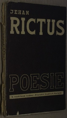 náhled knihy - Jehan Rictus : poesie