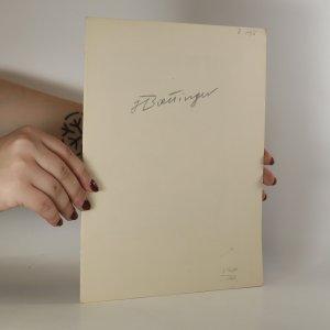 náhled knihy - Hugo Bœttinger. Soupis jeho litografií (Hugo Boettinger)