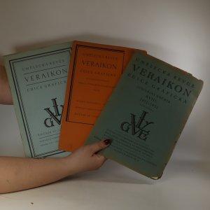 náhled knihy - Umělecká revue Veraikon. Edice grafická (1932/4, 1933/2, 1934/2)