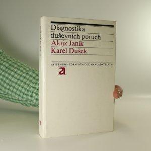náhled knihy - Diagnostika duševních poruch