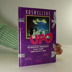 náhled knihy - Roswellské UFO. nejnovější poznatky