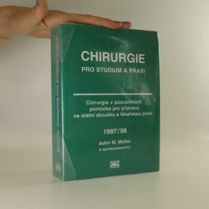náhled knihy - Chirurgie pro studium a praxi