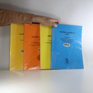 náhled knihy - Vnitřní lékařství. Díl I. - IV. (4 svazky, podtrháno, zvýrazněno a popsáno)