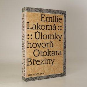 náhled knihy - Úlomky hovorů Otokara Březiny