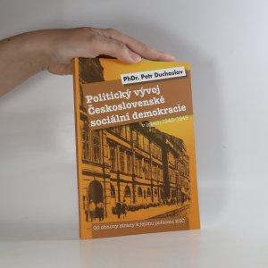náhled knihy - Politický vývoj Československé sociální demokracie v letech 1945-1948