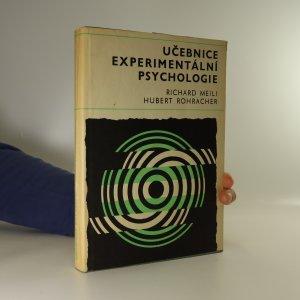 náhled knihy - Učebnice experimentální psychologie (místy podtrháno)
