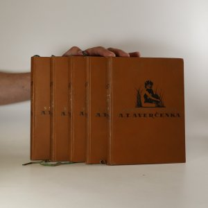 náhled knihy - 5x Vybrané spisy A.T. Averčenka (viz foto a poznámka)