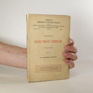 náhled knihy - Sedm proti Thébám
