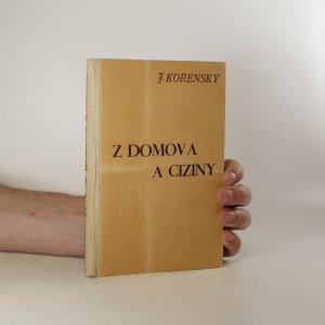 náhled knihy - Z domova a ciziny (6 knih v jednom svazku, viz foto)