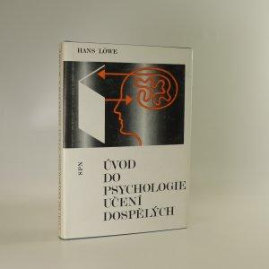 náhled knihy - Úvod do psychologie učení dospělých