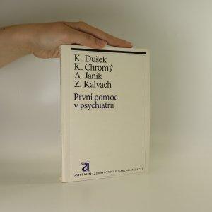 náhled knihy - První pomoc v psychiatrii