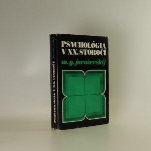 náhled knihy - Psychológia v XX. storočí