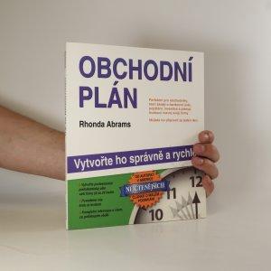 náhled knihy - Obchodní plán. Vytvořte ho správně a rychle!