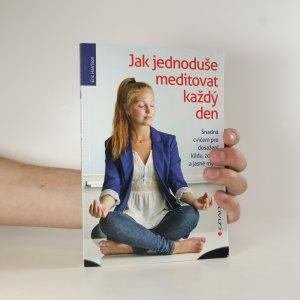 náhled knihy - Jak jednoduše meditovat každý den