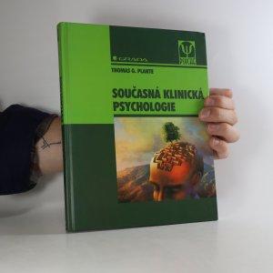 náhled knihy - Současná klinická psychologie