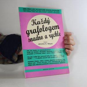 náhled knihy - Každý grafologem snadno a rychle