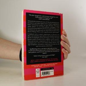 antikvární kniha The Vagina Monologues, 2018