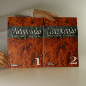 náhled knihy - Matematika 1 + 2 (2 svazky)