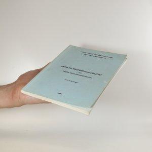 antikvární kniha Úvod do mezinárodní politiky I. díl, 1992