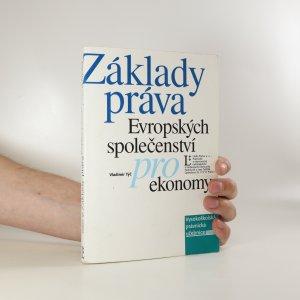 náhled knihy - Základy práva Evropských společenství pro ekonomy