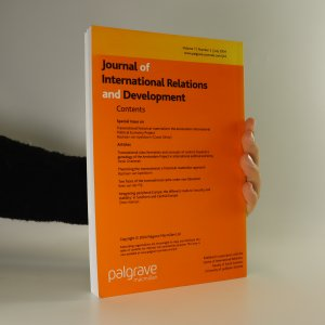 antikvární kniha Journal of International Relations and Development (volume 7, number 2), 2004