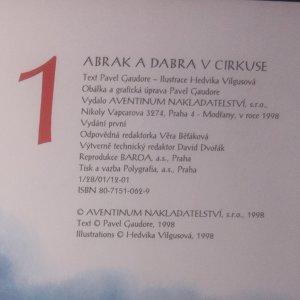 antikvární kniha Abrak a Dabra v cirkuse, 1998