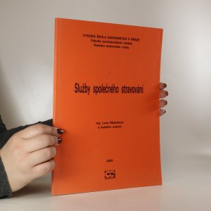 náhled knihy - Služby společného stravování
