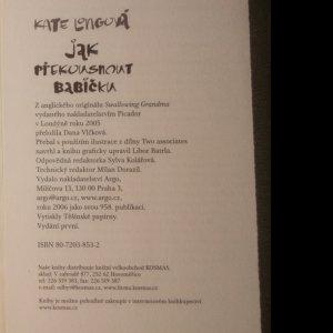 antikvární kniha Jak překousnout babičku, 2006