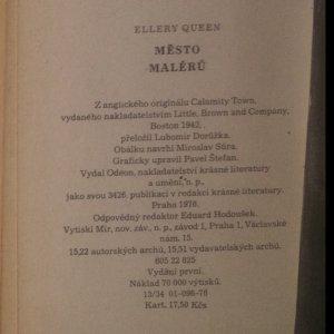 antikvární kniha Město malérů, 1976