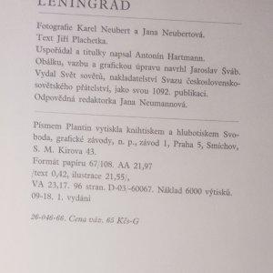 antikvární kniha Leningrad, 1966