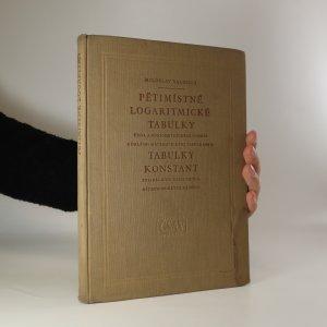 náhled knihy - Pětimístné logaritmické tabulky