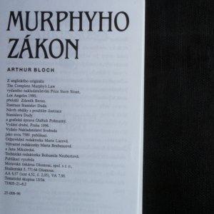 antikvární kniha Murphyho zákon, 1996
