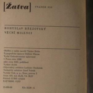 antikvární kniha Věční milenci, 1966