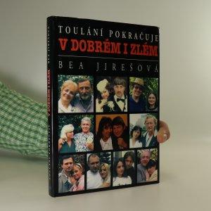 náhled knihy - Toulání pokračuje v dobrém i zlém