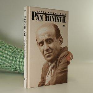 náhled knihy - Pan ministr