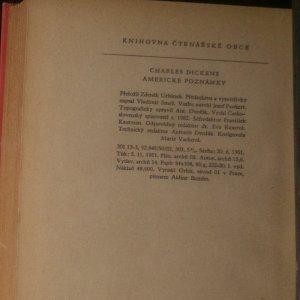 antikvární kniha Americké poznámky, 1952