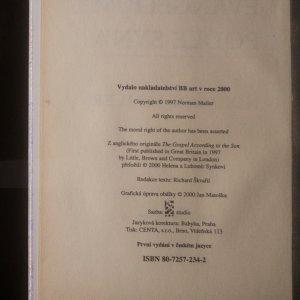 antikvární kniha Evangelium podle syna, 2000